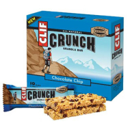 Clif Crunch: Chocolate Chip: 5 two packs in each box