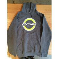 CX Tape Pullover Hoodie Grey