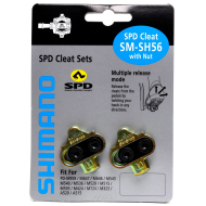 Shimano SM-SH56 SPD Cleats without Cleat Nut, Multi-Release